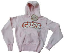 Rare UK FAMOUS FOREVER GREASE Rockabilly WOW Kaputzen Pulli PULLOVER HOODIE L