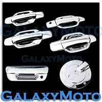 05-12 Chevy Colorado Triple Chrome 4 Door+NO PSG KH+Tailgate Handle+GAS Cover
