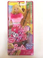 Mattel I Can Be Barbie Violin / Viola Concert Symphony Pink Outfit, Shoes, Nip