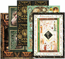 MIXED DECOUPAGE PAPER, Pack of 10, Quality 100gsm, Nerida Singleton