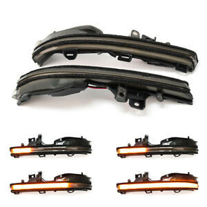 For Lexus ES RC LC UX LS XF50 2019 2020 Side Wing LED Dynamic Turn Signal light