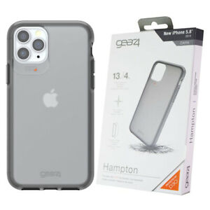 Dark Charcoal Hampton Case Cover for iPhone 11 Pro Impact Protection GEAR4 D3O
