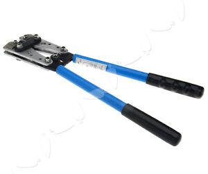 6 - 50 mm² Anderson Plug Crimp Crimping Tool Battery Cable Lug Hex Crimper