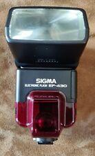 Flash SIGMA JAPAN ELECTRONIC FLASH EF-430 + housse Sigma