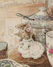 Potter Beatrix Helen The Mice Listen To The Tailor Lament Canvas 16 x 20  #2577