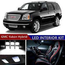 15pcs LED Xenon White Light Interior Package Kit for GMC Yukon Hybrid 2008-2013