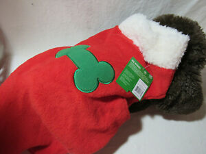 Pet LARGE Dog Dress Christmas Clothes Puppy Skirt Costume Apparel COAT