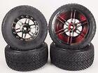 SCT Slash short course and slash truck tires (Racing Spike Black Chrome)