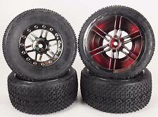 Slash short course and slash truck tires (Racing Spike Black Chrome)