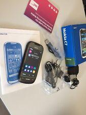 Nokia C7-00 - 8GB - Charcoal Black (Ohne Simlock) 100% Original! Neuwertig !!