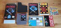 Final Fantasy 1 I Nintendo NES RPG Game Complete CIB Box Map Chart Manual lot !