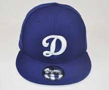 "Genuine New Era 9Fifty Los Angeles Dodgers ""D"" Adjustable Blue Snapback MLB Cap"