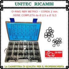 OR O-Ring metrici mm.2 nbr cassetta n.1 assortimento guarnizione scatola 420 pz