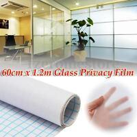 60cmx1.2m Película Ventana Vidrio Decorativa Privacidad PVC Vinilo Esmerilado
