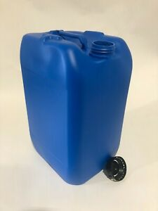 New 25 Litre Plastic Jerry can Water container Drum Keg with Lid Food Grade