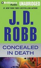 CONCEALED IN DEATH unabridged audio CD by J.D. ROBB (Nora Roberts) Brand New!