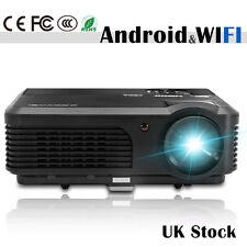 Android WiFi LED LCD proyector multimedia Full HD 1080p de cine en casa Beamer