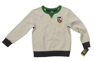 Polo Ralph Lauren Boys Grey Heather Downhill Skier Pullover Sweatshirt