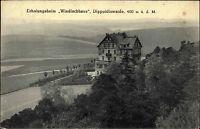 Dippoldiswalde Sachsen Sächsische Schweiz Erzgebirge 1926 Windischhaus Fachwerk