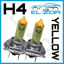 2x H4 Xenon AMARILLO 472 100w bombillas cruce principal actualización de faros