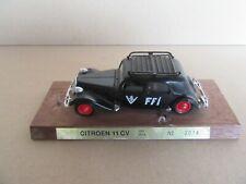 906K Solido 2014 Citroën 11CV FFI 1939 Noir 1:43
