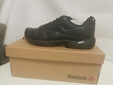 Reebok Advanced Trainer 3.0 Men's Leather Work/Running Trainers Black Size 9/ 43