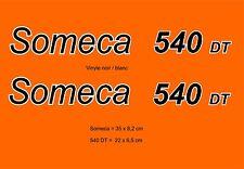 Kit stickers pour tracteur SOMECA 540 DT
