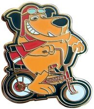 Muttley Rides His Raleigh Chopper Bicycle Enamel Pin Badge Grifter BMX 1970s