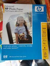 Hp advanced photo paper 25 sheets  glossy
