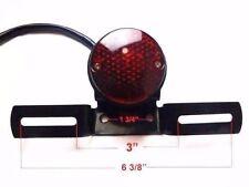 LED Rear Tail Brake Stop Light Lamp Cafe Racer Chopper Bobber Motorcycle Yamaha