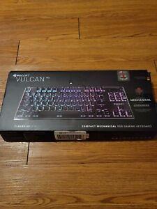 ROCCAT Vulcan TKL RGB PC Gaming Keyboard, Titan Mechanical Switch Linear, Black