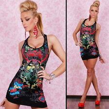Sexy Slashed Punk Skater Night Club Designer Dress 6 8 10