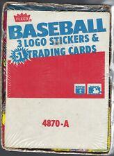 1987 FLEER BASEBALL FACTORY SEALED RACK BOX
