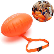 Inflatable Swimming Safety Ball Float Buoy Pull Aid Open Water Training Sport