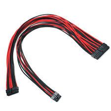 24pin Cable de alimentación de Manga Rojo Negro Evga E-Series G3/G2/P2/T2