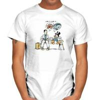 Life Is Like… Forrest Gump Chocolate Ducktales Mashup Funny White T-shirt S-6XL