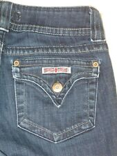 Hudson Jeans Bootcut w Flap Pockets Dark Sz 27