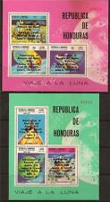 HONDURAS 1970 SPACE APOLLO OVERPRINT SS MNH