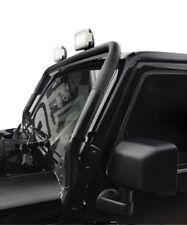 Jeep Wrangler JK 07- Scheinwerferbügel Stahl schwarz Lampenbügel Scheibenrahmen