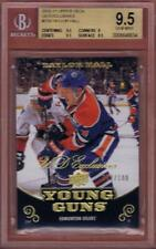 TAYLOR HALL 2010-11 UD EXCLUSIVES /100 YOUNG GUNS ROOKIE #219 YG BGS 9.5 RC