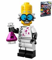LEGO 71010 MINIFIGURES Series 14 #03 Monster Scientist Brand New w/ unused code