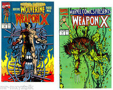 WOLVERINE #72-73 VOL. 2 VF-NM WEAPON-X BEGINS BARRY WINDSOR-SMITH STORY ART 1991