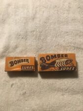 New listing Pair of vintage Bomber Lures. With boxes