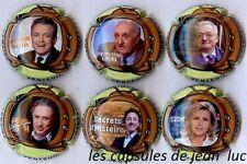 Champagne Dominique Lemaire nouvelle série de 6 (Les Grands de  la Télé) Nov2017
