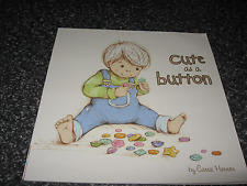 CUTE AS A BUTTON BY CARRIE HENNON SOFTCOVER BRAND NEW