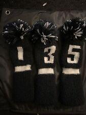golf pom pom headcovers black white Callaway Ping TaylorMade Nike Titleist Cobra