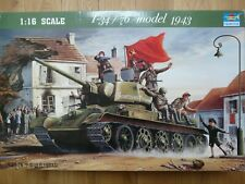 Maquette 1/16 Trumpeter Ref 0903 Char T-34/76 model 1943