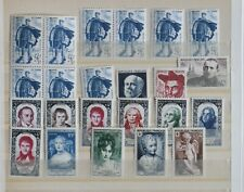 France collection 1950, ANNEE 1950, MNH, high catalog value