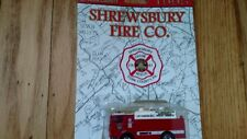 Shrewsbury Pa. Fire Company Matchbox Rescue Truck 1995 NIB