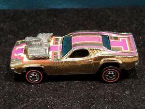 Vintage Hot Wheels 1970 Dodge Charger Rodger Dodger Hot Rod, Red Lines